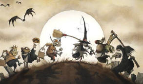 Gris Grimly's Trick-or-Treating
