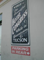 Hotel Congress in Tucson