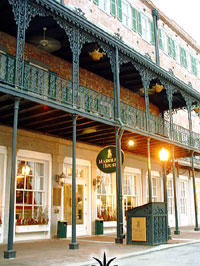 The Marshall House in Savannah