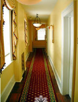 A hallway in the Marshall House