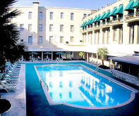 The Menger Hotel's pool