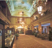 The Pfister Hotel's beautiful  lobby