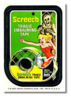 Wacky Packages Scotch Screech Tape